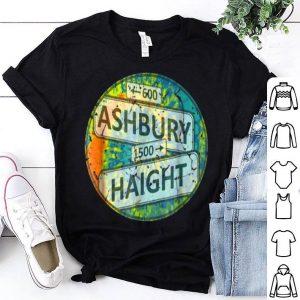 60S 70S Retro Flower Power - Haight Ashbury Street Signs shirt