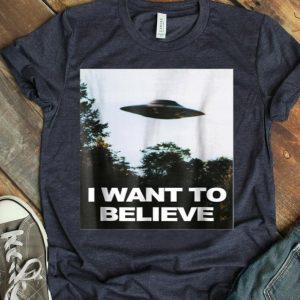 Alien UFO Hunter I Want To Believe shirt
