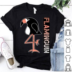 Animal Flamingo And Penguin Flaminguin shirt