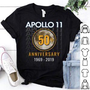 Apollo 11 50th 1969 Golden Anniversary Moon Tee shirt