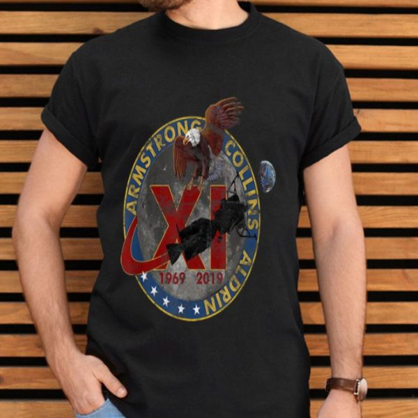 Apollo 11 50th Anniversary 1969-2019 Vintage Space shirt