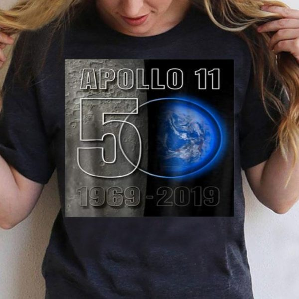 Apollo 11 50th Anniversary Earthrise 50 shirt