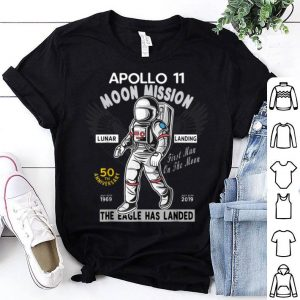 Apollo 11 50th Anniversary First Man On The Moon shirt