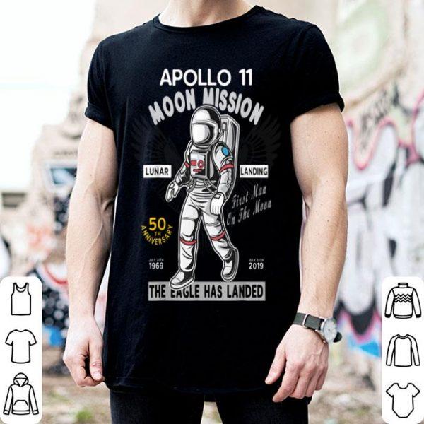 Apollo 11 50th Anniversary First Man On The Moon shirt