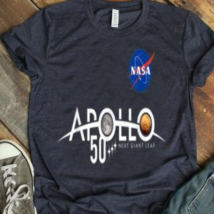 Apollo 11 50th Anniversary Logo Design - NASA Space Moon Landing shirt