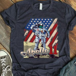 Apollo 11 50th Anniversary Moon Landing 1969 2019 American Proud shirt