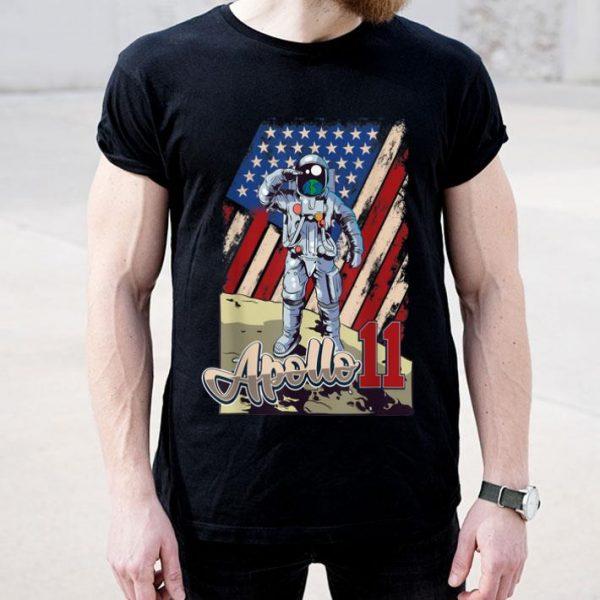 Apollo 11 50th Anniversary Moon Landing 1969 2019 American Proud shirt