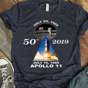 Apollo 11 50th Anniversary Moon Landing Giant Leap Humankind shirt