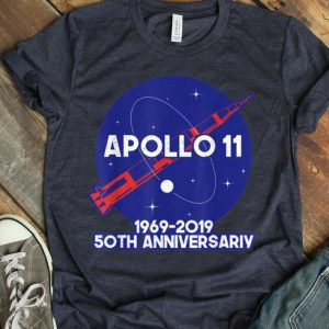 Apollo 11 50th Anniversary Moon Landing Logo shirt