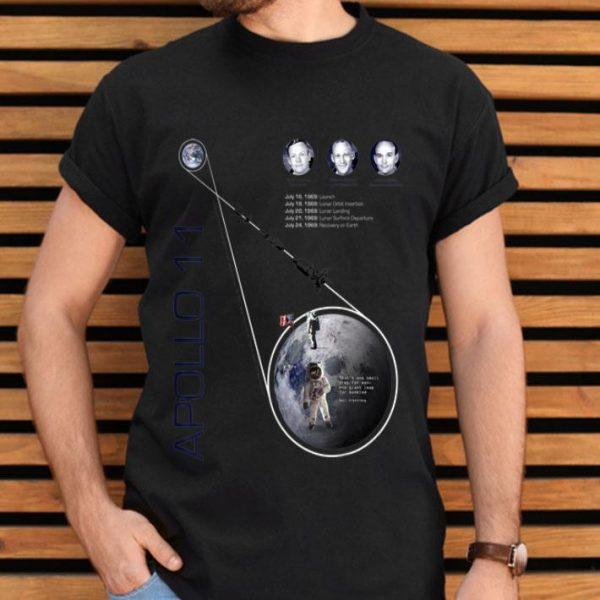 Apollo 11 First Moon Landing 50 Year Anniversary shirt
