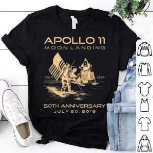 Apollo 11 Moon Landing 50th Anniversary Space 1969 2019 July shirt