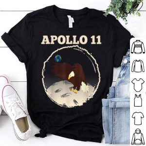 Apollo 11 NASA Space Moon Landing Eagle shirt