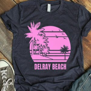 Cute Delray Beach Vacation Premium shirt
