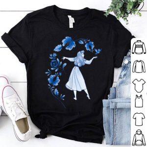 Disney Sleeping Beauty Princess Aurora Blue Flowers shirt
