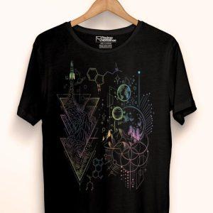 Dmt Spirit Molecule Psychedelic Music Lover Open Air Fest shirt
