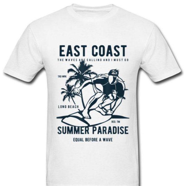 East Coast Summer Paradise Beach Vacation shirt