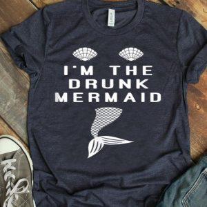 Funny Drunk Mermaid - Matching Mermaid Party - Girls Trip shirt