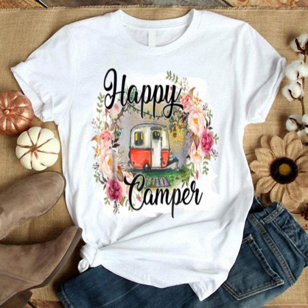 Happy Camper Vintage - Campings shirt