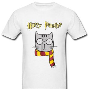 Harry Pawter Cute Magic Cat With Glasses shirt