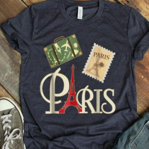 I Love Paris French Vintage Souvenir Traveler shirt