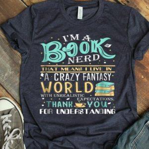 I'M A Book Nerd shirt