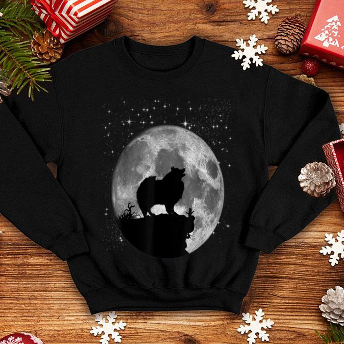 Keeshond Dog Moon Landing 50th Anniversary shirt