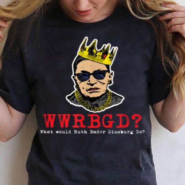 Notorious RBG Ruth Bader Ginsburg WwRBGd shirt