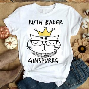 Notorious RBG - Ruth Bader Ginspurrg Cat shirt
