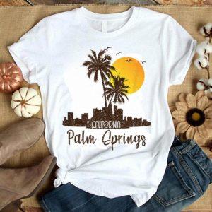 Palm Springs California Sunset Beach Palm Tree Summer shirt