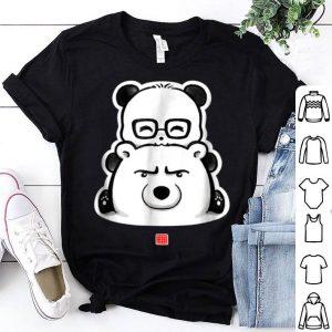 Panda And Polar Bear shirt