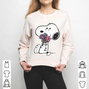 Peanuts Snoopy Flowers shirt