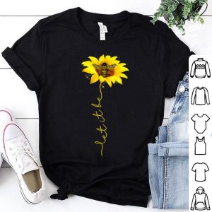 Tee Let It Bee Sunflower Graphic shirt