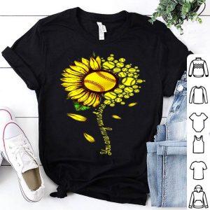 You Are My Sunshine Sunflower Softball shirt