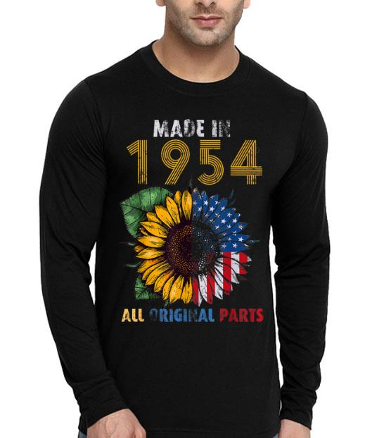 65 Years Old Made In 1954 All Original Parts shirt