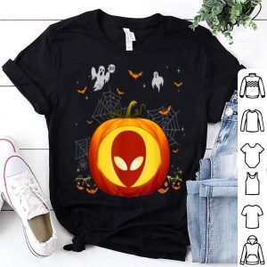 Awesome Alien Halloween Pumpkin Costume Cute Outfit Gift shirt