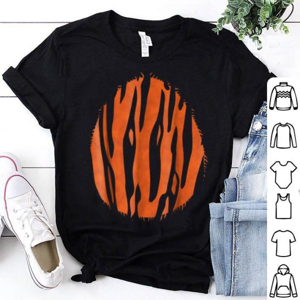 Awesome Halloween Tiger Costume Belly shirt