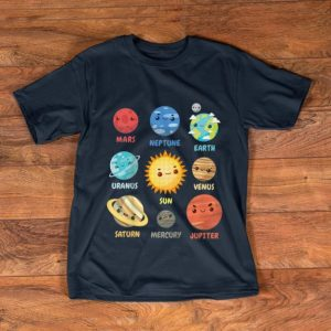 Awesome Solar System Planets shirt