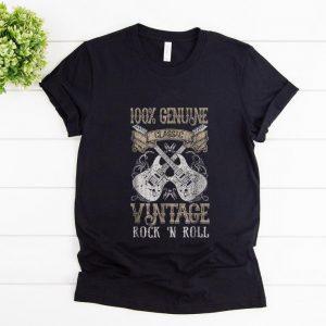 Hot 100% Genune Class Guitar Electric Vintage Rock N Roll shirt