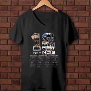 Hot 16 Years Of NCIS 2003 - 2019 Signature shirt