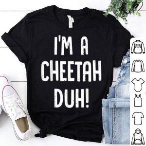 Hot Cheetah Halloween Costume Outfit Funny Gift Boy Girl shirt