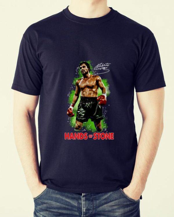 Hot Roberto Duran Hand Of Stone Signature shirt