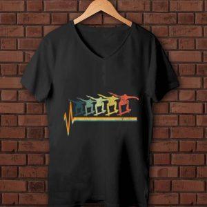 Hot Skater Heartbeat Vintage shirt