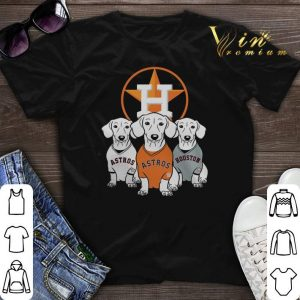 Houston Astros Dachshund shirt