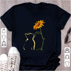Nice Cat You Are My Sunshine Sunflower shirt