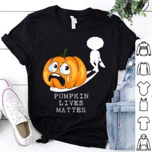 Nice Funny Halloween Jack O Lantern Costume Pumpkin Lives Matter shirt