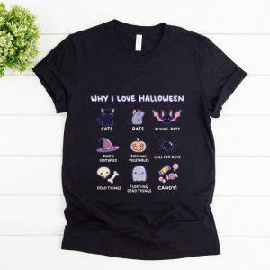 Nice Why I Love Halloween Emoji Collection shirt