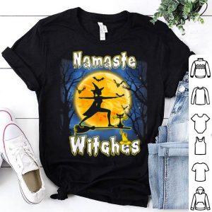 Nice Yoga - Namaste Witches - Halloween Yoga shirt