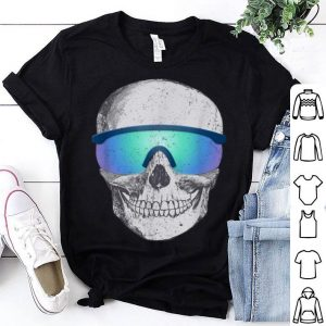Official 80s Costume Retro Halloween Skull For Kids & Adults #2 shirt