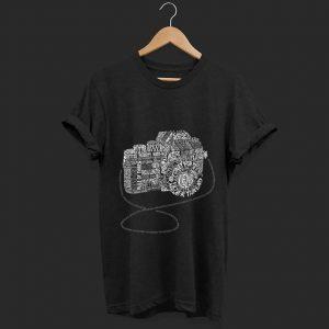 Official Camera Amazing Anatomy Typography shirt