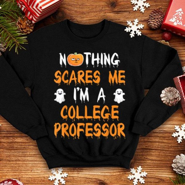 Official College Professor Halloween Costume Gift shirt